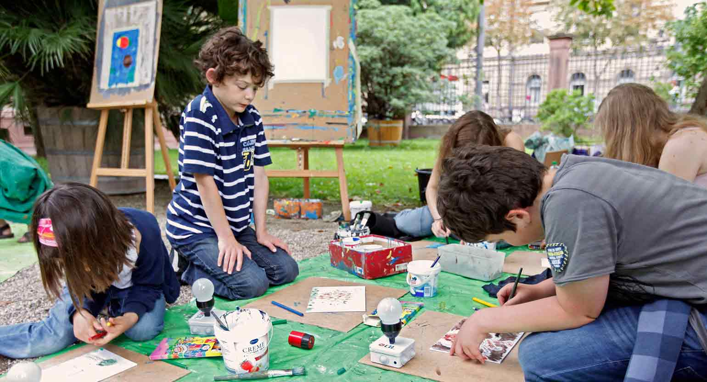 Vielseitiges Programm für Kinder auf der KAMUNA
