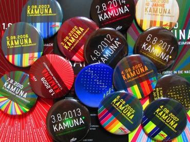 KAMUNA-Eintrittsbuttons